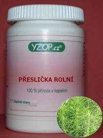 Bylinné kapsle Přeslička rolní 100ks