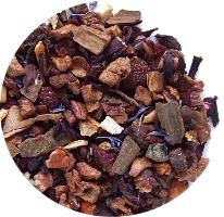Švestka a skořice ovocný čaj