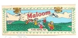 Nepal Maloom Three Best Tea /dřevěná krabička černý čaj 150g