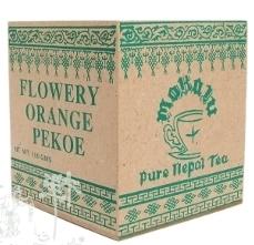 Nepal Makalu FOP /dřevěná krabička černý čaj 100g