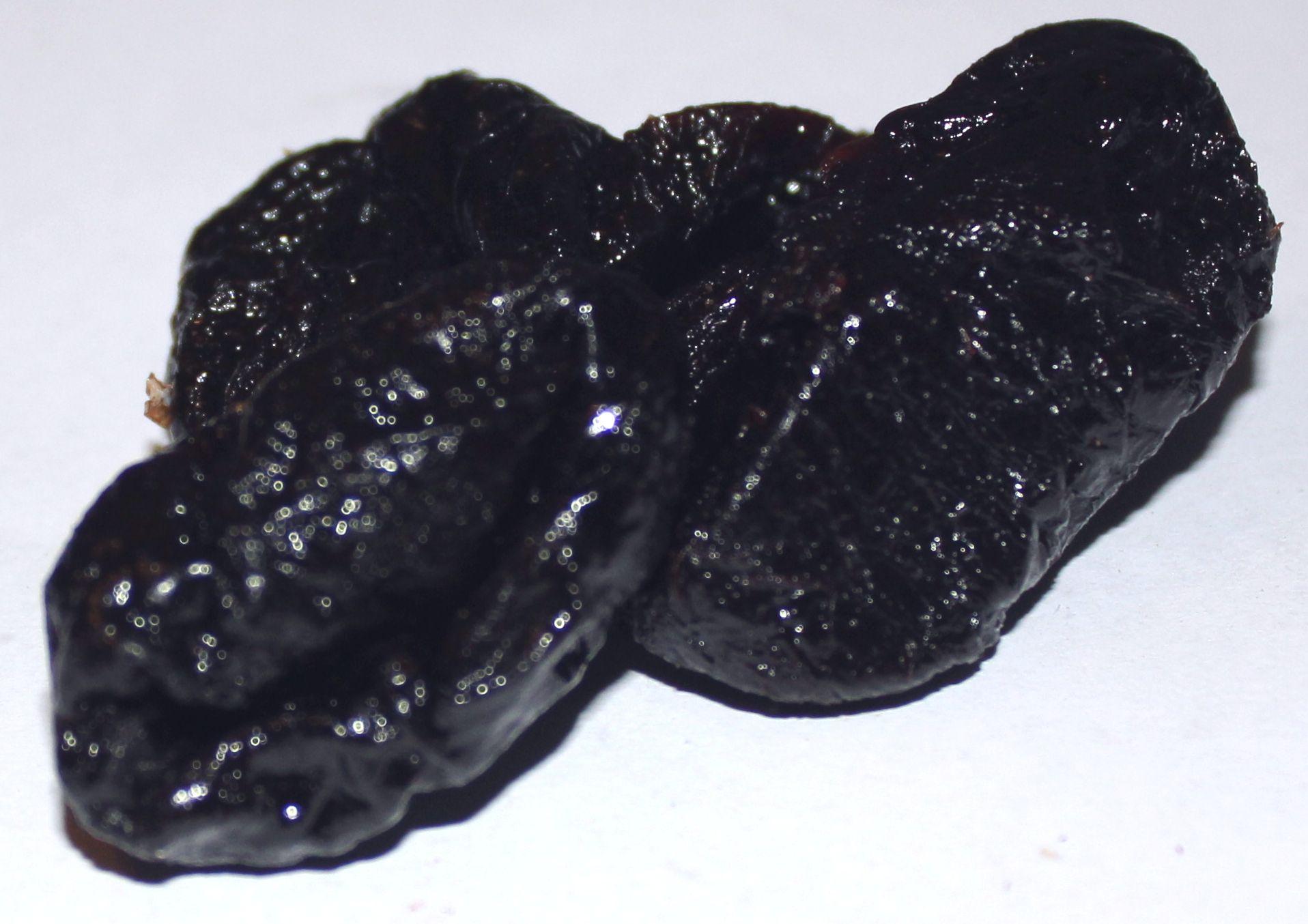 Švestky sušené bez cukru