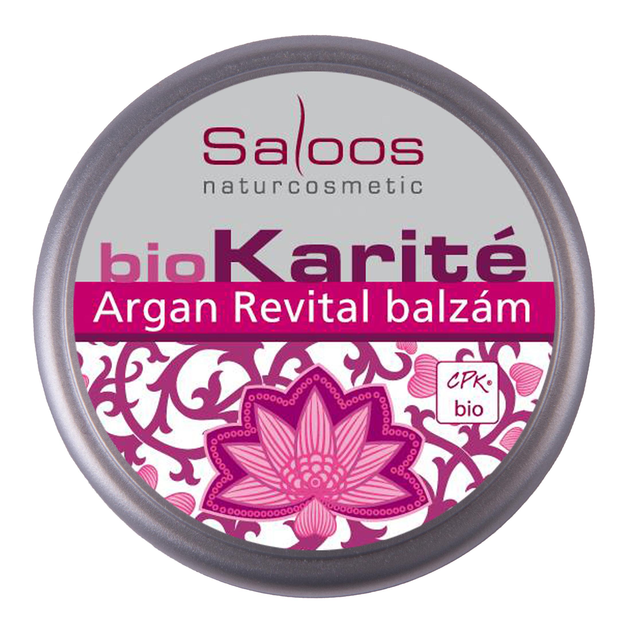 Argan Revital balzám Saloos 19 ml