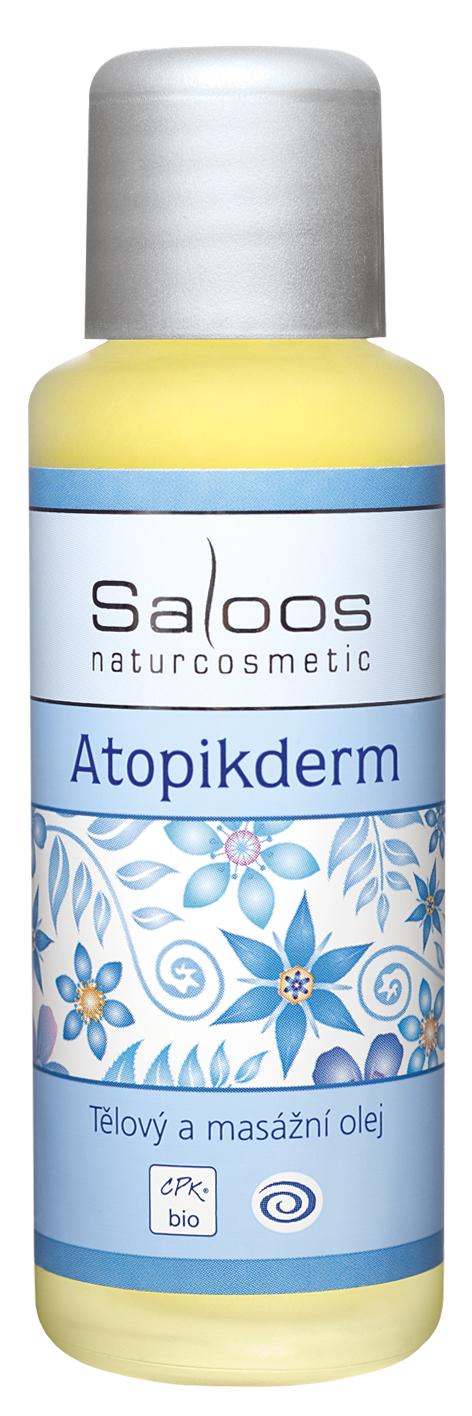 Atopikderm tělový a masážní olej Saloos
