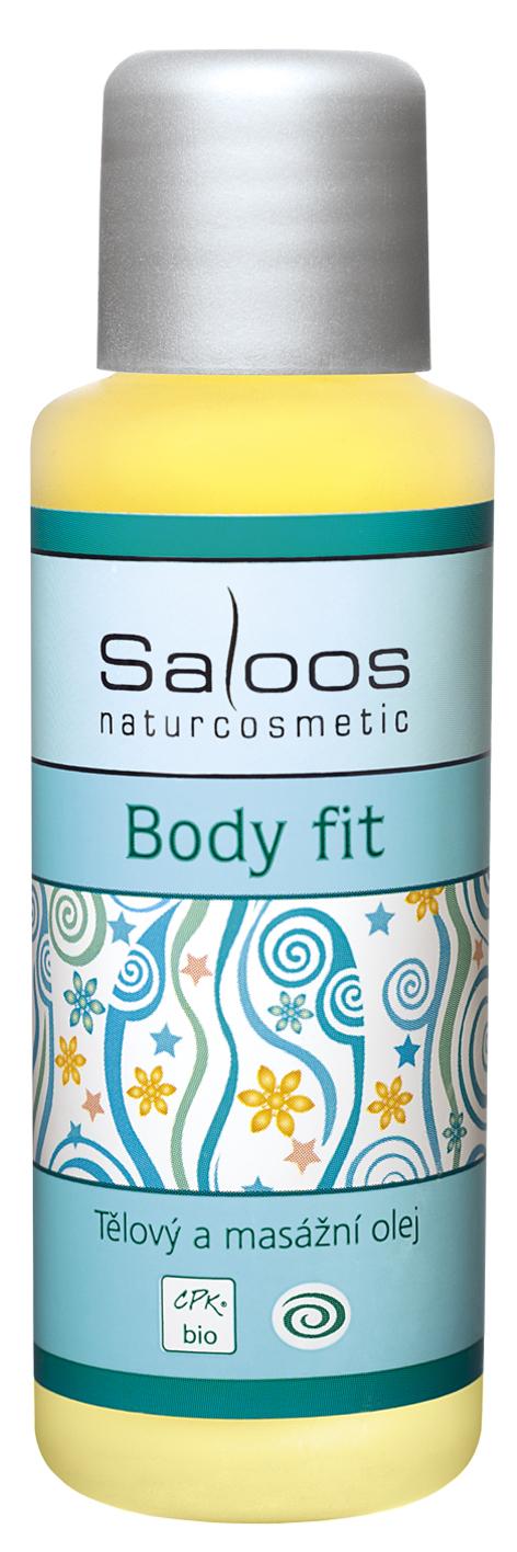 Body Fit tělový a masážní olej Saloos