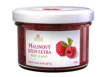 Džem Malinový extra Méně sladký